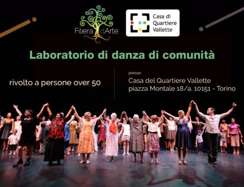 Laboratorio di danza di comunità over 50